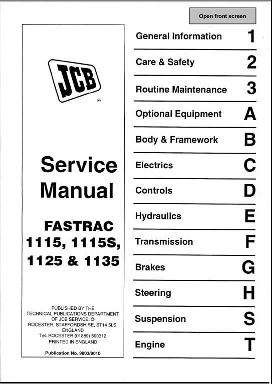 1103 fastrac tractor a repair manual store jcb wiring diagram at gsmx.co