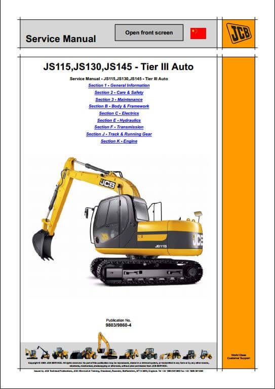 1139 jcb js130 wiring diagram 28 images jcb compact service manuals jcb js130 wiring diagram at gsmx.co