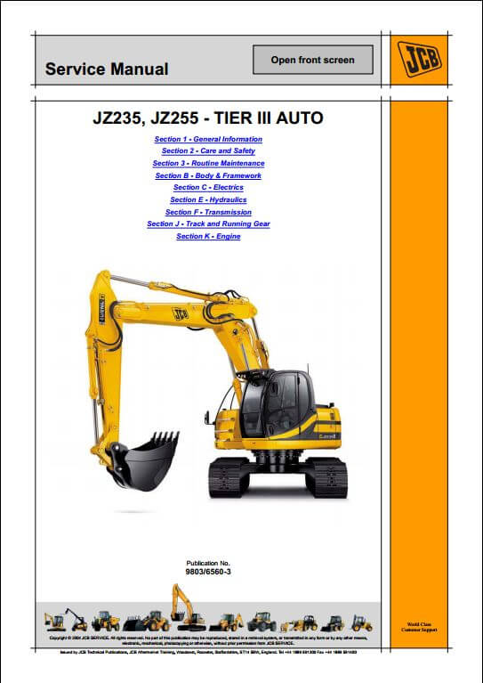 tracked excavator a repair manual store. Black Bedroom Furniture Sets. Home Design Ideas