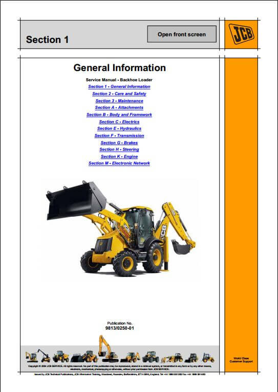 Backhoe Loader | A Repair Manual Store on jcb skid steer diagrams, jcb 525 50 wirng diagram, hyster forklift diagram, jcb transmission diagram, cummins engine diagram, jcb backhoe wiring schematics, jcb parts diagram, jcb tractor, jcb battery diagram,