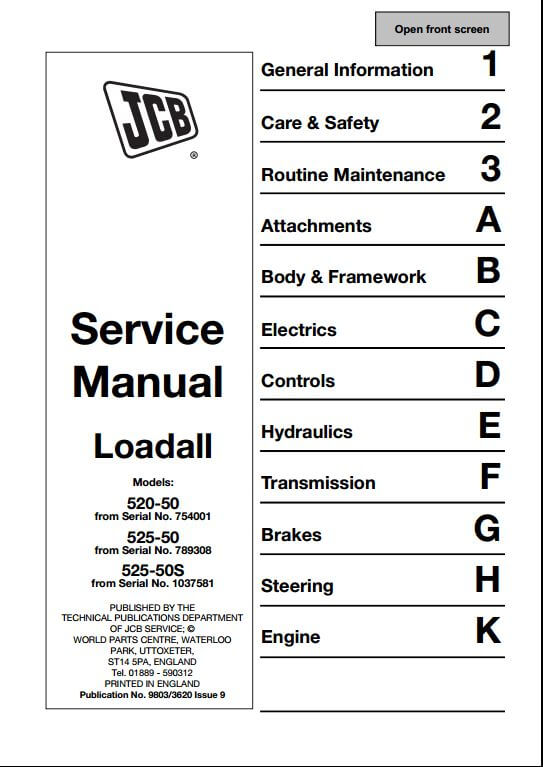 jcb service manual user guide manual that easy to read u2022 rh sibere co jcb service manual free download jcb service manuals telehandlers 512