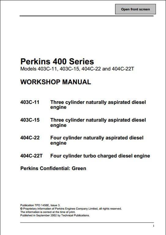 engine | a repair manual store - part 3 on perkins diesel motor diagram,  diesel perkins manual yd 100 series