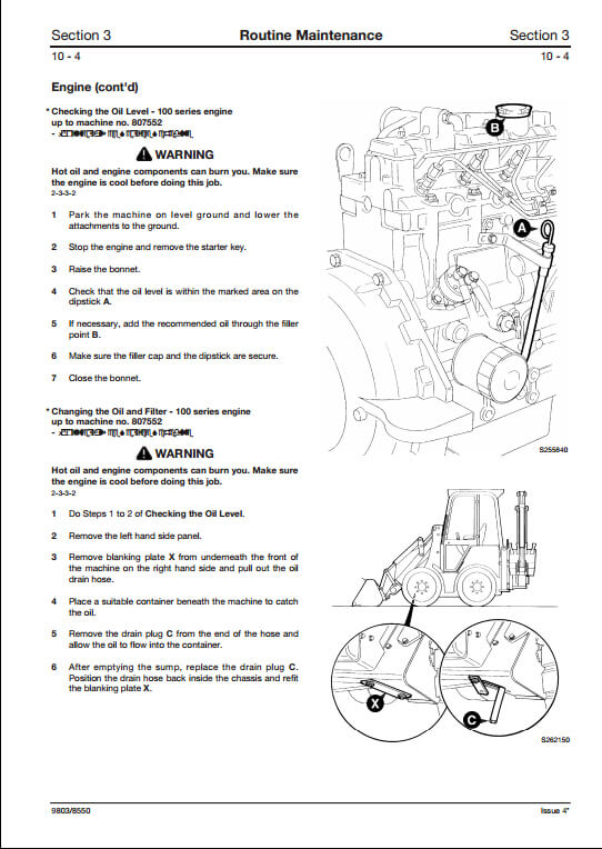 jcb 1cx 208s backhoe loader service repair manual pn 9803 8550 a rh arepairmanual com jcb 1cx parts manual jcb 1cx parts manual