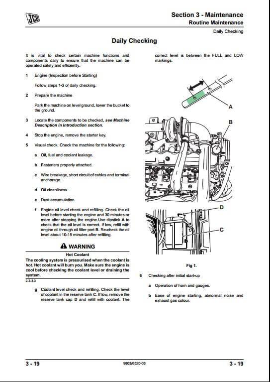 john deere 160 excavator manual