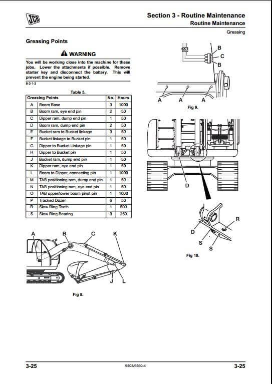 jcb jz235 jz255 tier iii auto tracked excavators. Black Bedroom Furniture Sets. Home Design Ideas