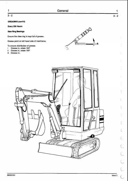 Jcb 801 Tracked Excavator Service Repair Manual