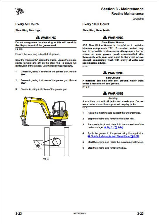 mini excavator a repair manual store part 2. Black Bedroom Furniture Sets. Home Design Ideas