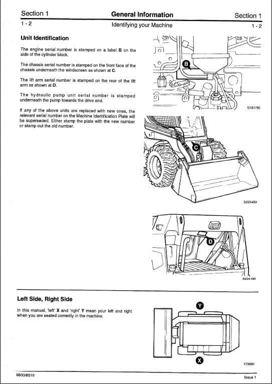 bobcat 322 mini excavator service manual