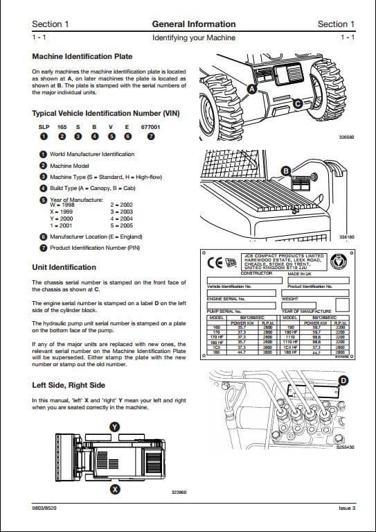 bobcat 440 skid steer wiring diagram b jcb robot 160,170,180t skid steer loader service repair ...