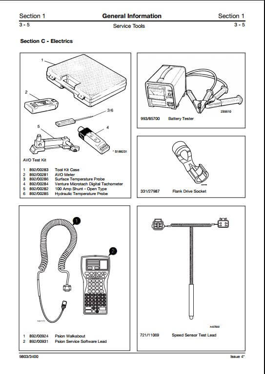 jcb teletruk from m/c no.788001 skid steer loader service ... cat skid steer wiring diagram jcb skid steer wiring schematic