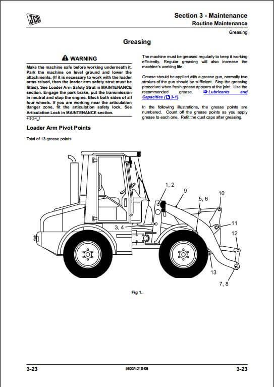 john deere 410 backhoe parts manual