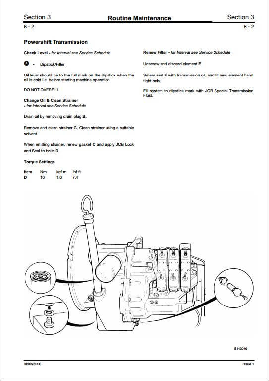 Jcb 3cx 4cx  U0026 Variants Backhoe Loader Service Repair Manual