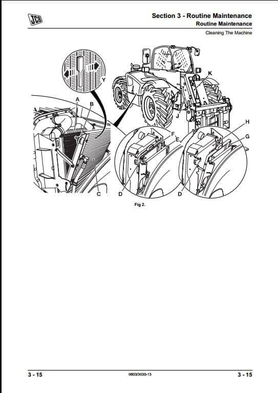 Jcb 1400b Backhoe Wiring Diagram Com
