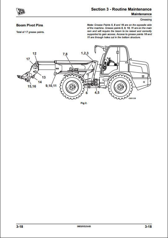 jcb tm310 wastemaster loader service repair manual