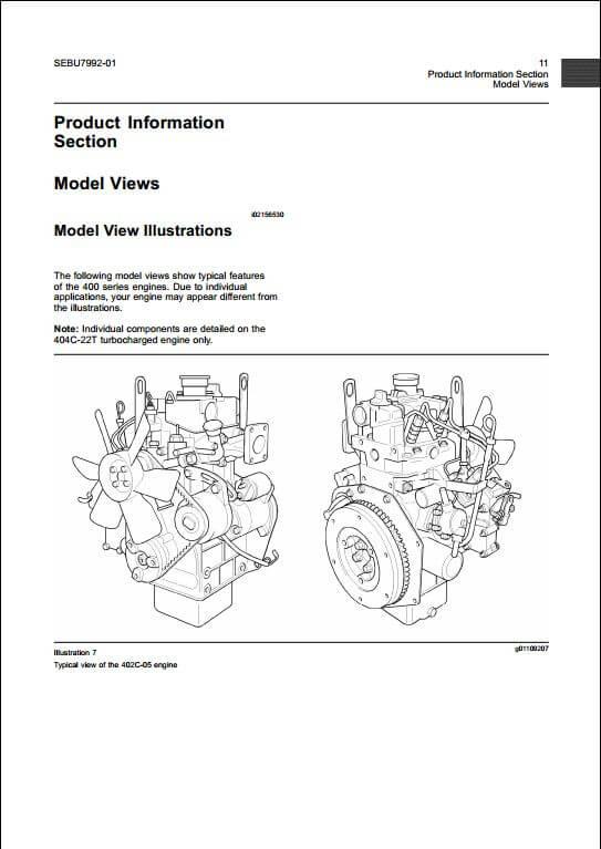 perkins 400 series diesel engine service repair manual a repair rh arepairmanual com Perkins Diesel Engine Workshop Manual Perkins 1004 Rebuild Manual