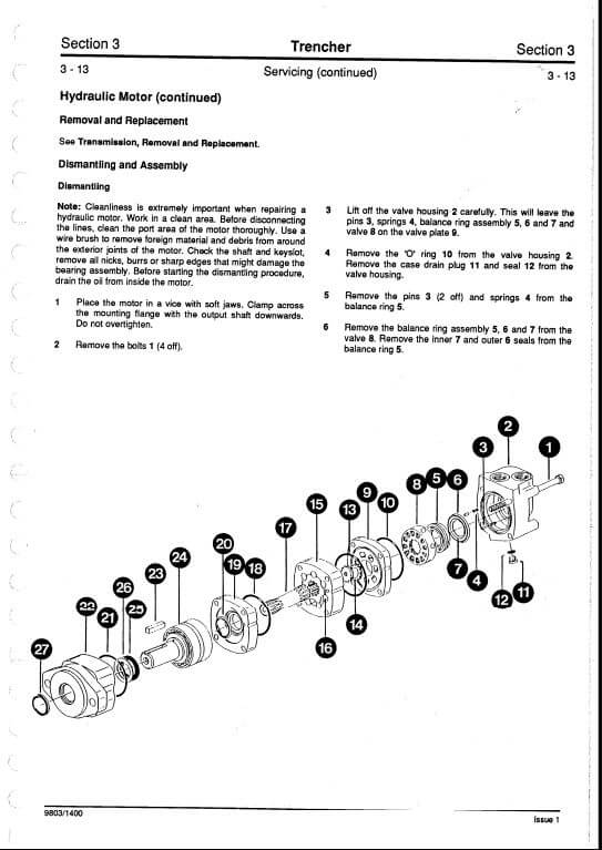 jcb attachments service repair manual