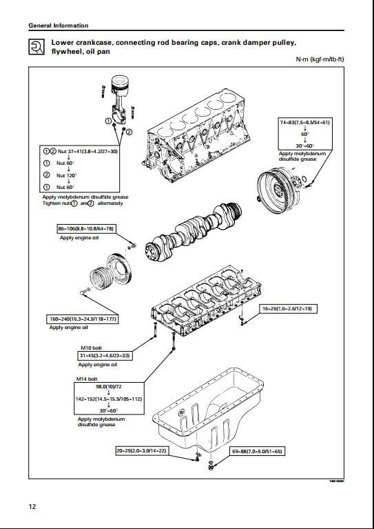 isuzu diesel engine aa 6sd1t workshop service repair. Black Bedroom Furniture Sets. Home Design Ideas