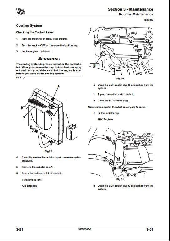 jcb js200w tier iii tracked excavators service repair. Black Bedroom Furniture Sets. Home Design Ideas