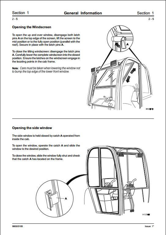 Jcb Telehandler Operators Manual