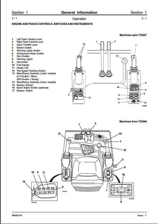 jcb 802 802 4 802 super mini excavator service repair manual