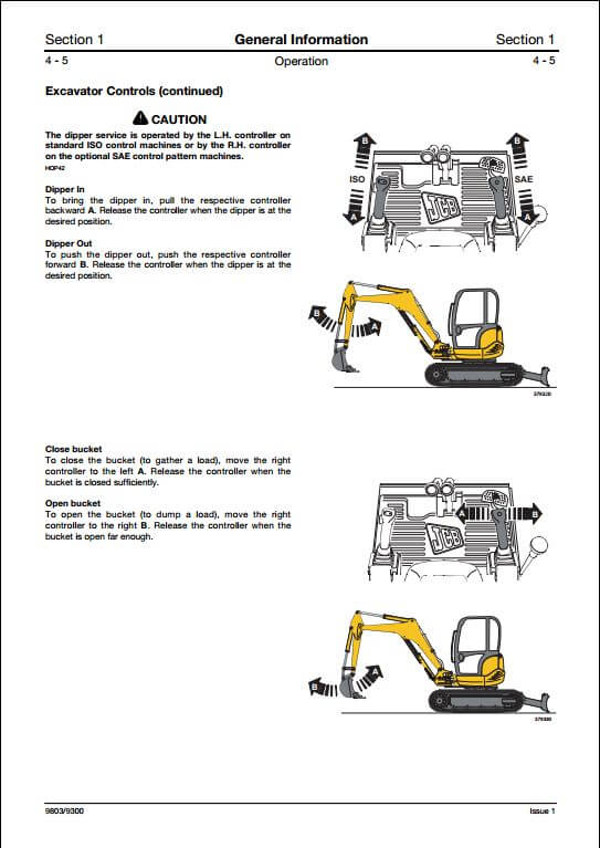 Excavator | A Repair Manual Store - Part 2
