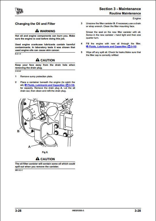 jcb 8014 8016 8018 mini excavator service repair manual a repair rh arepairmanual com JCB 8018 Tracks JCB 8018 ZTS