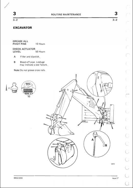 Jcb 2d2ds33c3cs3d700 Excavator Loader Service Repair Manual on jcb wiring diagram