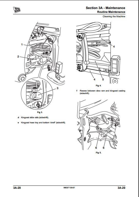 jcb 2cx 210 212 backhoe loader service repair manual
