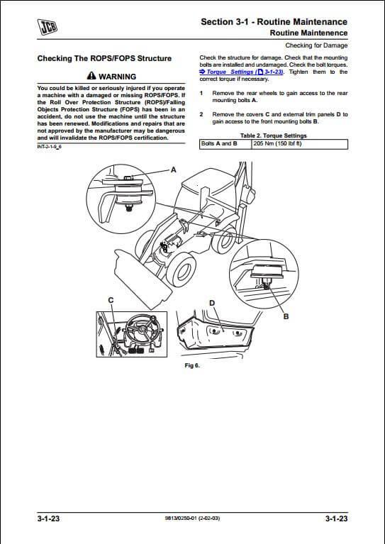Backhoe Loader A Repair Manual Store