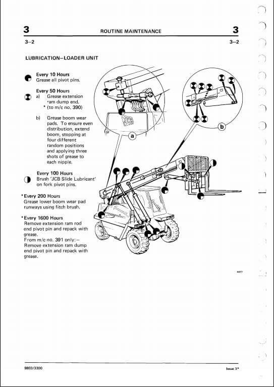 Jcb 520 parts Manual Jcb Wiring Diagram on