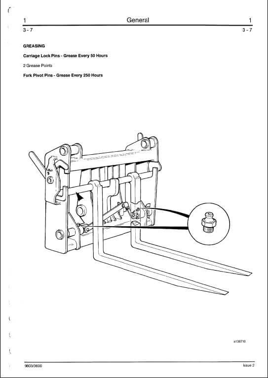 Jcb 525527530535537 Series Telescopic Handler Service Manual