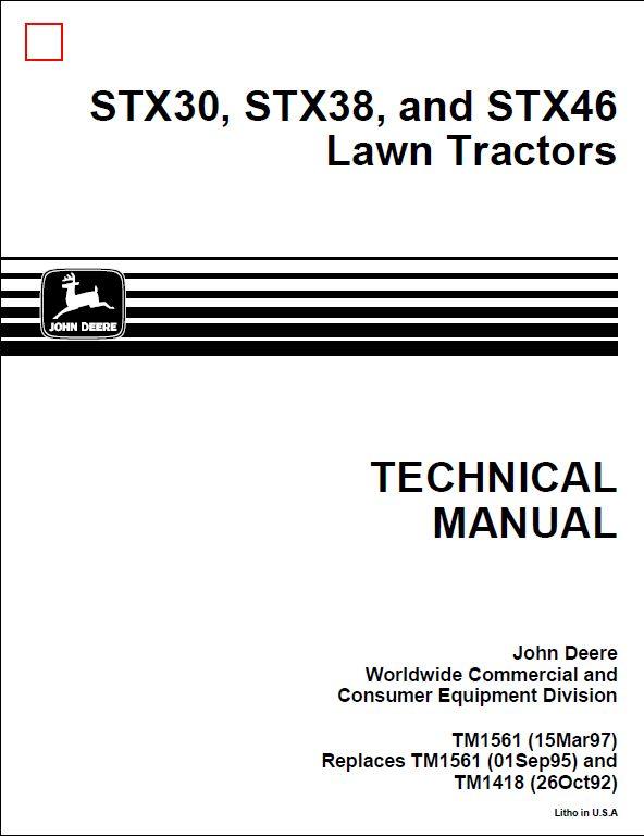 John Deere 2016 Owners Manual