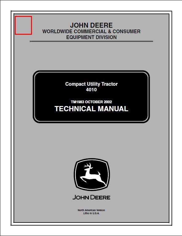 john deere 624k maintenance manual