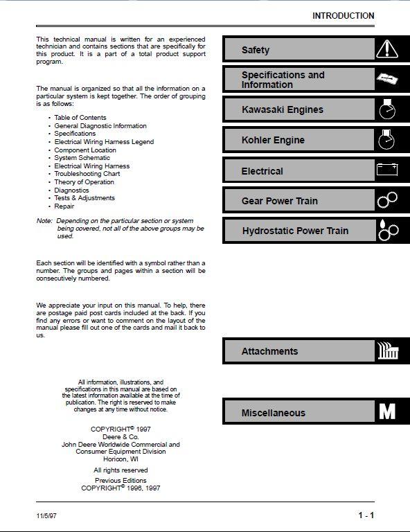 John Deere Gs30 Wiring Diagram : John deere gs hd commercial