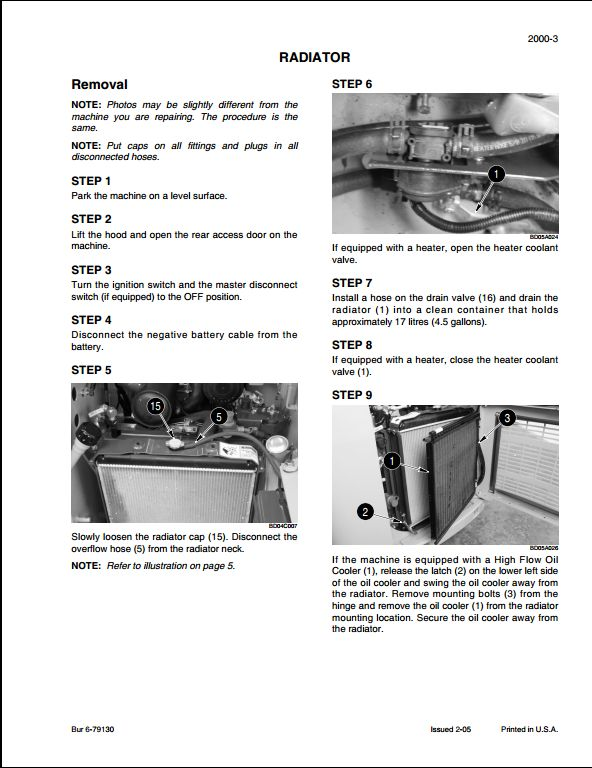 Bt 420 maintenance manual Manitou
