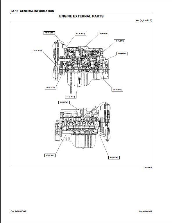 isuzu 4le2 parts wiring diagrams repair wiring scheme. Black Bedroom Furniture Sets. Home Design Ideas