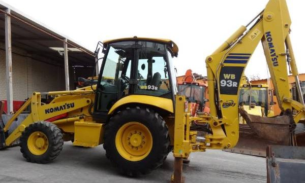 komatsu wb93r 5 backhoe loader service repair workshop John Deere Backhoe Loader Mini Komatsu Front Loaders
