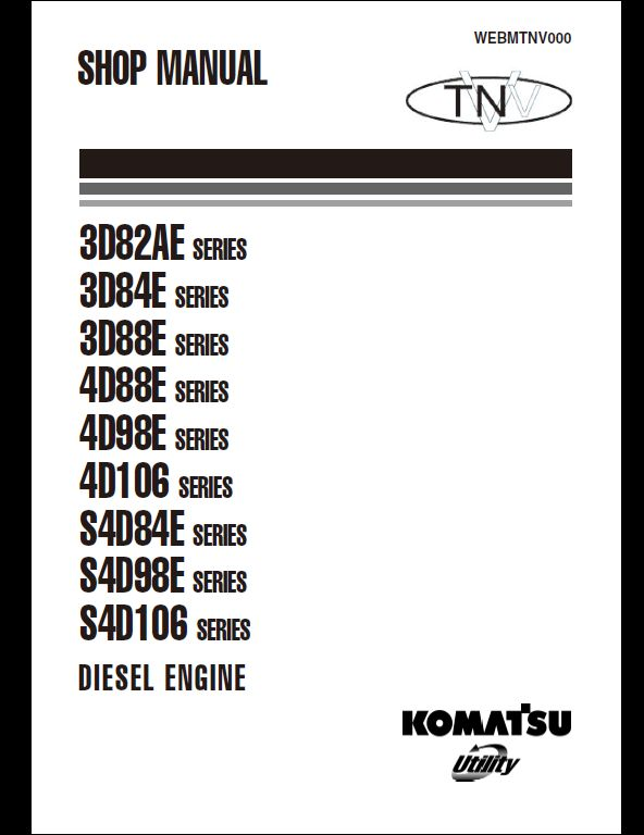 KOMATSU Engine   A Repair Manual Store - Part 3