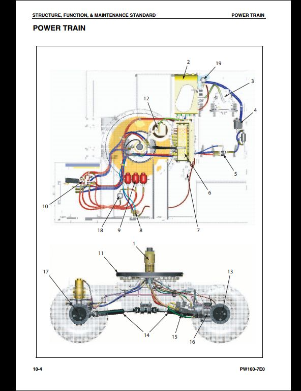komatsu pw160 7e0 hydraulic excavator service repair workshop manual rh arepairmanual com Komatsu Excavator Manuals Heater Core komatsu pc120 excavator service manual