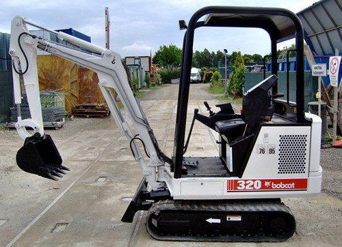 bobcat x320 mini excavator service repair workshop manual