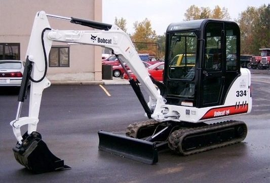 Bobcat 331 331E 334 Mini Excavator Service Repair Workshop Manual ...