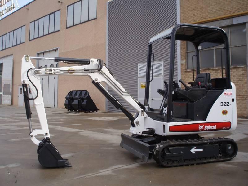 Bobcat X320/322 Mini Excavator Service Repair Workshop Manual 562313001  517811001