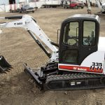 2010 Bobcat 335 Compact Excavator Service Repair Workshop Manual AAD111001-A9KA11001