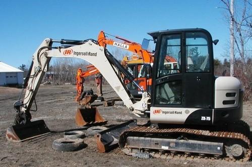 bobcat ingersoll rand zx75 load excavator service repair caterpillar wiring diagrams caterpillar wiring harness assy 1519265 #14