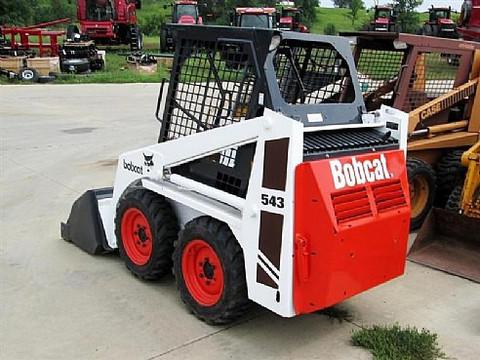 bobcat 540 543 skid steer loader service repair workshop manual rh arepairmanual com Bobcat 873 Wiring-Diagram Bobcat 753 Parts Manual