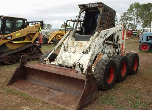 bobcat 1213 skid steer loader service repair workshop