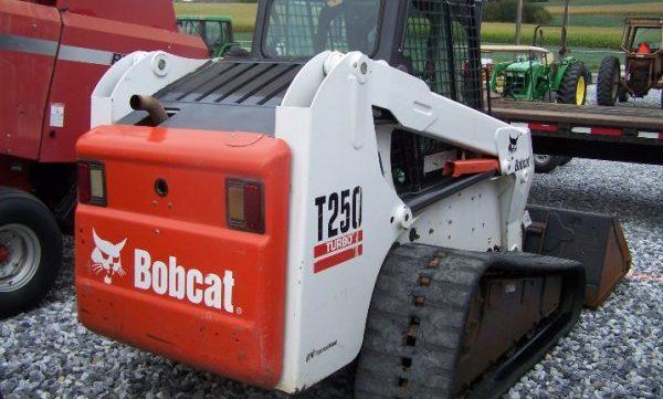 Bobcat T250 Turbo High Flow Track Loader Service Repair