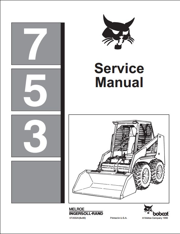 bobcat 763 wiring diagram pdf bobcat 753 skid steer loader service repair workshop ... bobcat 753 wiring diagram pdf
