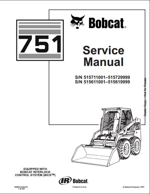 bobcat 843 wiring diagram wiring diagrams