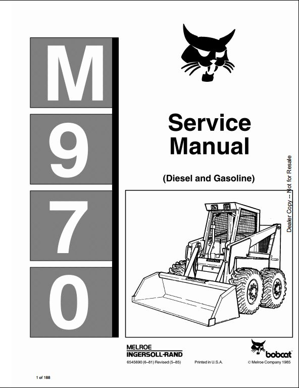 john deere 158 loader manual